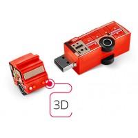 Флешка из ПВХ 3D USB 2.0