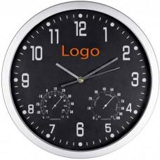 Часы с термометром и гигрометром 908-81