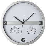 Часы с термометром и гигрометром 909-81